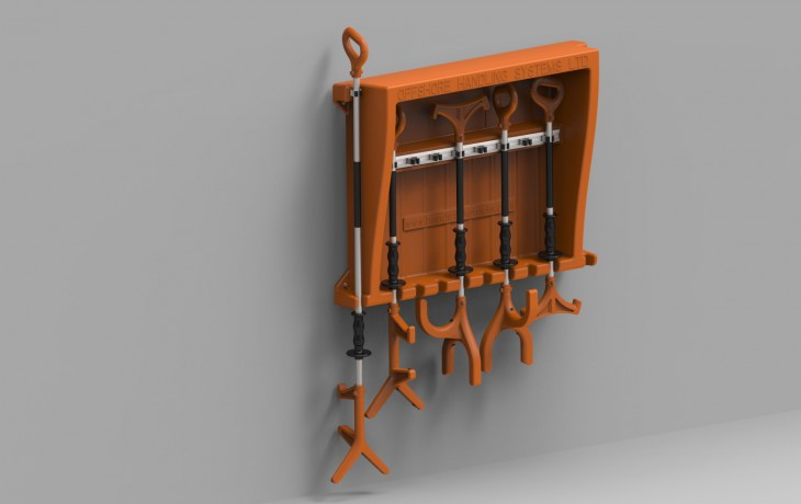 Hands Free Tools Storage Station